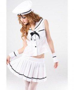 L220 Costum tematic marinar - Armata - Marinar - Haine > Haine Femei > Costume Tematice > Armata - Marinar