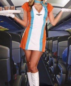M213 Costum Tematic Stewardesa - Armata - Marinar - Haine > Haine Femei > Costume Tematice > Armata - Marinar