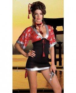 M227 Costum tematic japoneza - Halate - Haine > Haine Femei > Lenjerie intima > Halate