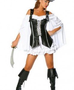 M28-A Costum Halloween Pirat - Pirat - Haine > Haine Femei > Costume Tematice > Pirat