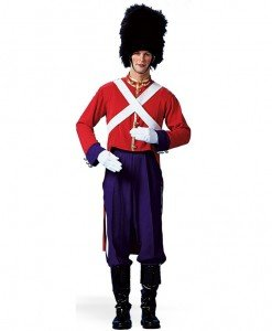 MAN25 Costum tematic Halloween - soldat garda britanica - Toate Produsele - Toate Produsele