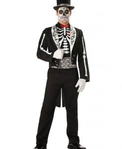 MAN37 Costum Halloween model anatomic Schelet - Costume Tematice - Haine > Haine Barbati > Costume Tematice