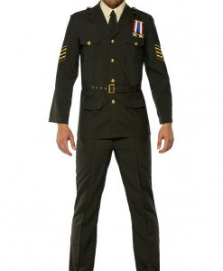 MAN43 Costum Halloween ofiter armata - Costume Tematice - Haine > Haine Barbati > Costume Tematice