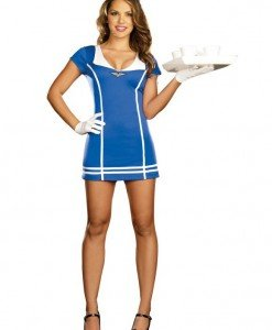 N166 Costum tematic stewardesa - Armata - Marinar - Haine > Haine Femei > Costume Tematice > Armata - Marinar