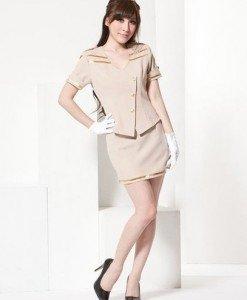N167 - Costum Tematic - Stewardesa (pilot) - Armata - Marinar - Haine > Haine Femei > Costume Tematice > Armata - Marinar