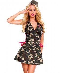 N168 Costum tematic soldat armata - Armata - Marinar - Haine > Haine Femei > Costume Tematice > Armata - Marinar