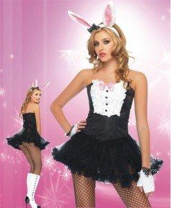 N212 Costum Halloween iepuras - Animalute - Haine > Haine Femei > Costume Tematice > Animalute