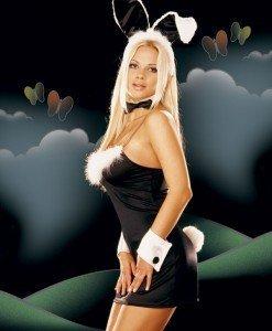 N215 Costum Halloween iepuras - Animalute - Haine > Haine Femei > Costume Tematice > Animalute