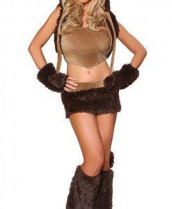 N217 Costum Halloween maimuta - Animalute - Haine > Haine Femei > Costume Tematice > Animalute