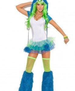 N246-4 Costum Halloween monstru - Animalute - Haine > Haine Femei > Costume Tematice > Animalute