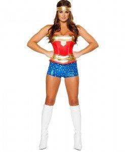 N248 Costum WonderWoman - Super Eroi - Haine > Haine Femei > Costume Tematice > Super Eroi
