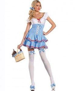 N310 Costum Halloween Dorothy din vrajitorul din Oz - Basme si Legende - Haine > Haine Femei > Costume Tematice > Basme si Legende