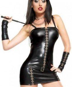 P146- Rochie Scurta Latex - Costume latex si PVC - Haine > Haine Femei > Costume latex si PVC