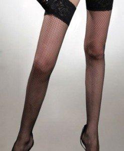 P156 Accesorii ciorapi sexi treisfert cu dantela - Ciorapi dama - Haine > Haine Femei > Ciorapi si manusi > Ciorapi dama