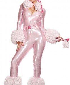 P188 Costum de carnaval pudel - Animalute - Haine > Haine Femei > Costume Tematice > Animalute