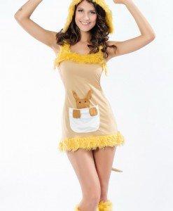 P210-9 Costum Halloween cangur - Animalute - Haine > Haine Femei > Costume Tematice > Animalute