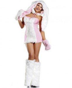 P214 Costum Tematic Iepuras - Animalute - Haine > Haine Femei > Costume Tematice > Animalute