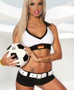 P268 Costum Halloween fotbal - Sport - Racing - Haine > Haine Femei > Costume Tematice > Sport - Racing