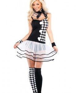 P305 Costum de Halloween de Arlechino - Altele - Haine > Haine Femei > Costume Tematice > Altele