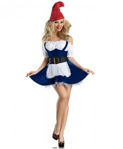 P310 Costum Halloween piticul din Alba ca Zapada - Basme si Legende - Haine > Haine Femei > Costume Tematice > Basme si Legende