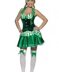 P315 Costum Halloween trifoi norocos - Altele - Haine > Haine Femei > Costume Tematice > Altele