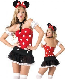 P76 Costum Halloween Mickey Mouse - Animalute - Haine > Haine Femei > Costume Tematice > Animalute