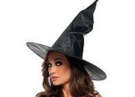 PA91-1 Palarie de vrajitoare Halloween - Palarii dama - Haine > Haine Femei > Accesorii > Palarii dama