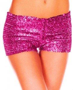 PSC11-55 Pantaloni scurti cu paiete - Pantaloni Scurti - Haine > Haine Femei > Pantaloni Dama > Pantaloni Scurti