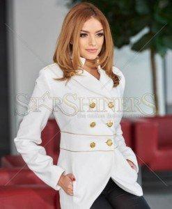 Palton LaDonna Finest Line White - Paltoane -