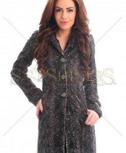 Palton PrettyGirl Elegancy Black - Paltoane -