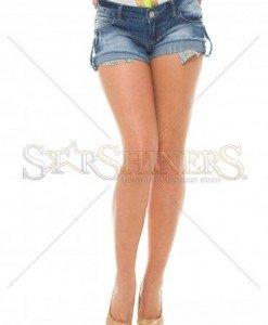 Pantaloni Scurti MissQ Hot Missy Blue - Pantaloni scurti -