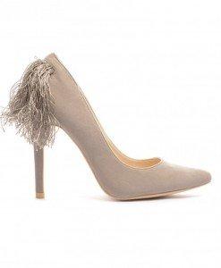 Pantofi Albano Gri - Pantofi - Pantofi