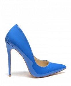 Pantofi Berta Albastri - Pantofi - Pantofi