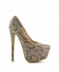 Pantofi Bili Snake - Pantofi - Pantofi