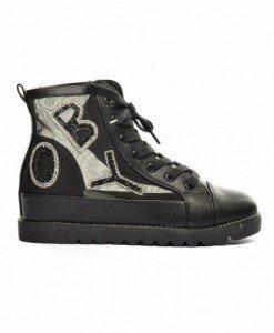 Pantofi Boy Negri - Casual - Casual