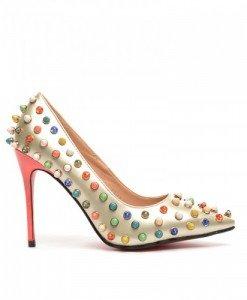 Pantofi Brenda Aurii - Pantofi - Pantofi