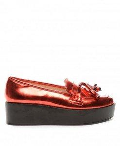 Pantofi Casual Brody Rosii - Casual - Casual