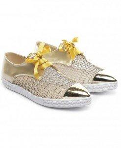 Pantofi Casual Candy Aurii - Casual - Casual