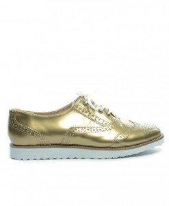 Pantofi Casual Cedar Aurii 2 - Casual - Casual
