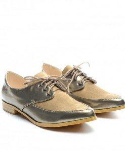 Pantofi Casual Emara Aurii - Casual - Casual