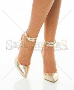Pantofi Mineli Boutique Desire Gold - Pantofi -