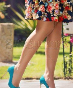 Pantofi Mineli Boutique Inspiring Turquoise - Pantofi -