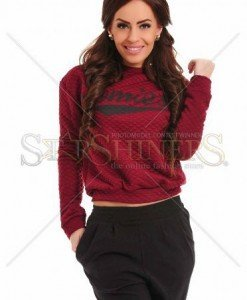 Pulover Perfect Cloud Burgundy - Pulovere -