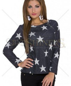 Pulover Starfall Night Black - Pulovere -