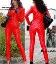 Q140-3 Salopeta Imitatie Piele - Salopete - Haine > Haine Femei > Costume latex si PVC > Salopete