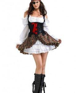 Q160 Costum carnaval pirat sexy - Pirat - Haine > Haine Femei > Costume Tematice > Pirat