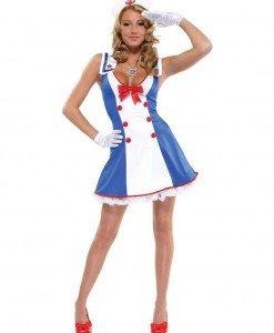 Q315 Costum Halloween marinar - Armata - Marinar - Haine > Haine Femei > Costume Tematice > Armata - Marinar