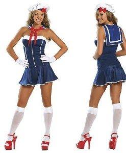 Q7 Costum tematic marinar - Armata - Marinar - Haine > Haine Femei > Costume Tematice > Armata - Marinar