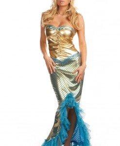 R163 Costum Halloween sirena - Basme si Legende - Haine > Haine Femei > Costume Tematice > Basme si Legende