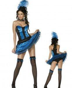 R219 Costum Tematic Can Can - Altele - Haine > Haine Femei > Costume Tematice > Altele